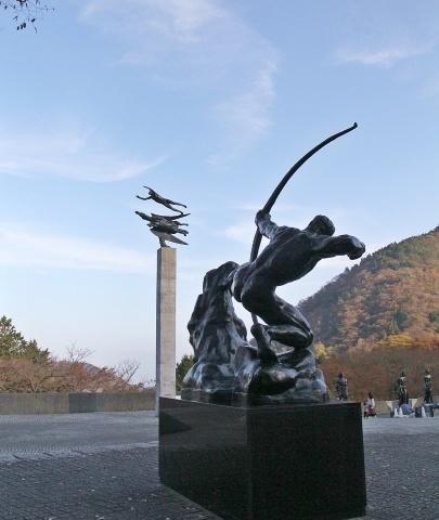 ◆箱根の素敵な美術館・・・『彫刻の森美術館』_e0154682_21043375.jpg