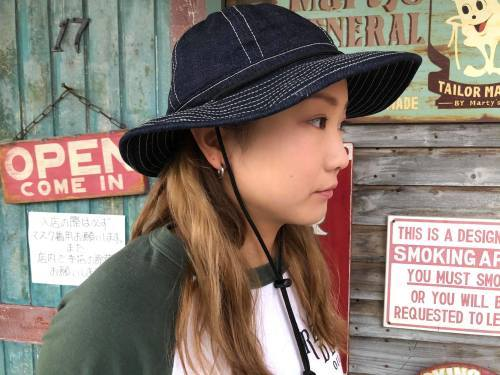 ◆ DENIM OUTDOOR HAT ◆_c0078202_11515930.jpg