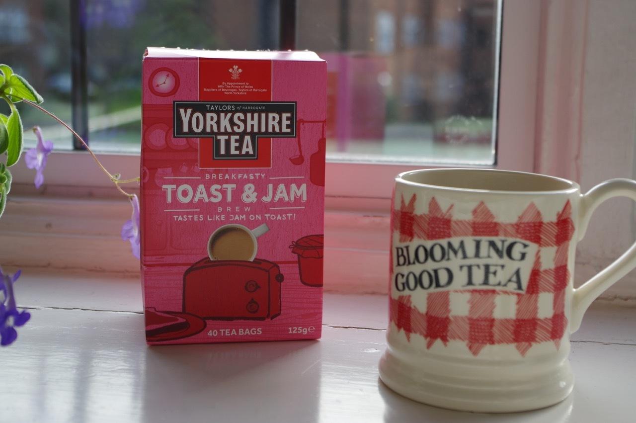 「トースト&いちごジャム風味」の紅茶! - ロンドン 2人暮らし