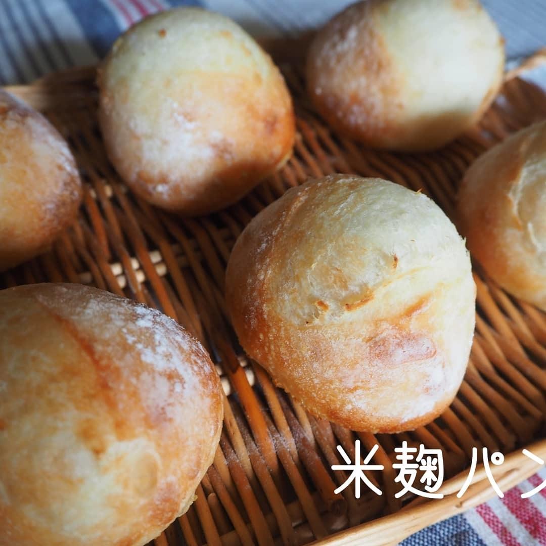 米麹酵母でパンを焼きました!_d0145857_20194231.jpg