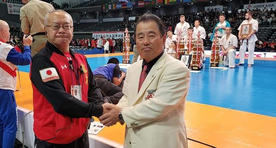 第52回オープントーナメント「全日本空手道選手権大会」 初日が無事に終了致しました。_c0186691_15551135.jpg