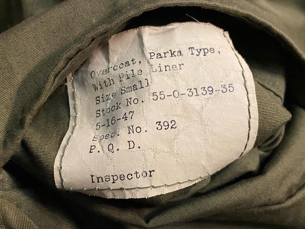 11月25日(水)マグネッツ大阪店Vintage入荷日!!#5 U.S.Army編!!M-47 Mt.Parka ,M-38 Mackinaw,M-41 HBT,M-65 1st,TCU 3rd!!_c0078587_15330130.jpg