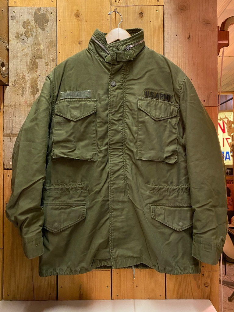 11月25日(水)マグネッツ大阪店Vintage入荷日!!#5 U.S.Army編!!M-47 Mt.Parka ,M-38 Mackinaw,M-41 HBT,M-65 1st,TCU 3rd!!_c0078587_17134637.jpg