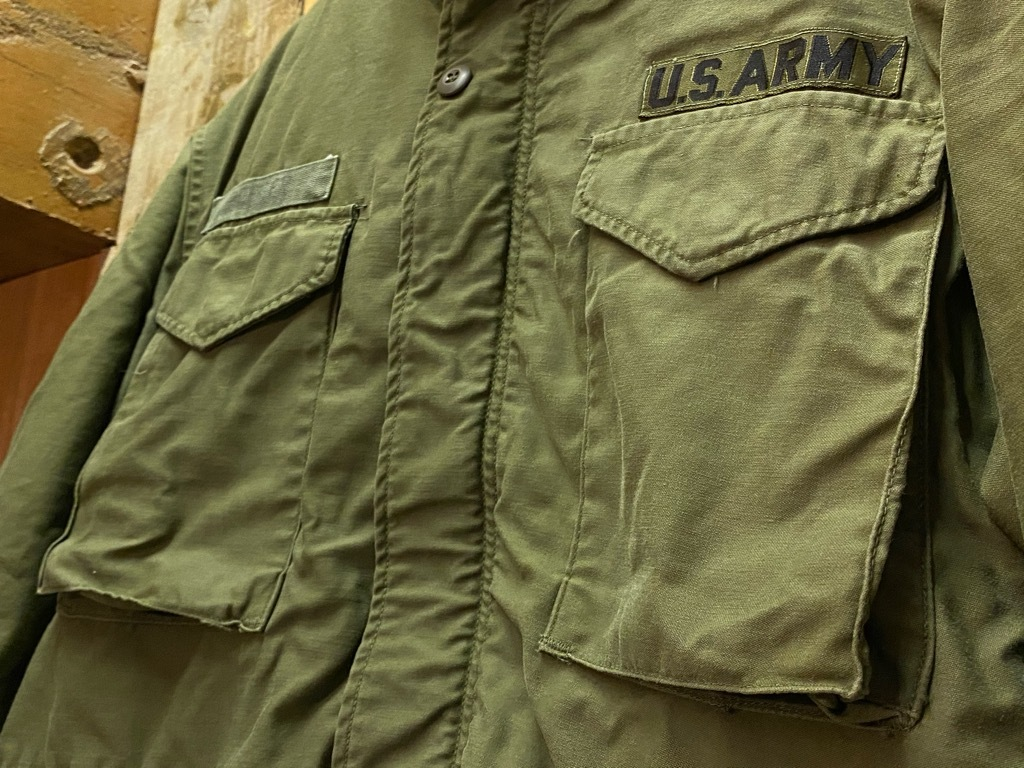 11月25日(水)マグネッツ大阪店Vintage入荷日!!#5 U.S.Army編!!M-47 Mt.Parka ,M-38 Mackinaw,M-41 HBT,M-65 1st,TCU 3rd!!_c0078587_17135768.jpg
