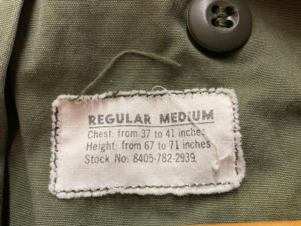 11月25日(水)マグネッツ大阪店Vintage入荷日!!#5 U.S.Army編!!M-47 Mt.Parka ,M-38 Mackinaw,M-41 HBT,M-65 1st,TCU 3rd!!_c0078587_17140825.jpg