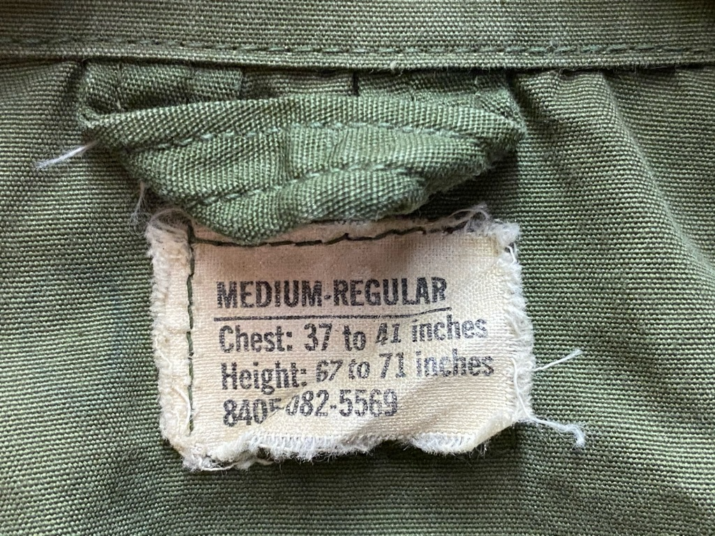 11月25日(水)マグネッツ大阪店Vintage入荷日!!#5 U.S.Army編!!M-47 Mt.Parka ,M-38 Mackinaw,M-41 HBT,M-65 1st,TCU 3rd!!_c0078587_17195983.jpg