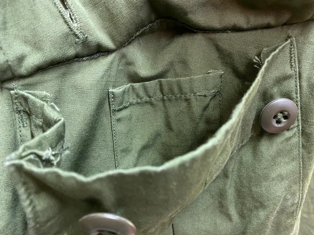 11月25日(水)マグネッツ大阪店Vintage入荷日!!#5 U.S.Army編!!M-47 Mt.Parka ,M-38 Mackinaw,M-41 HBT,M-65 1st,TCU 3rd!!_c0078587_17213034.jpg