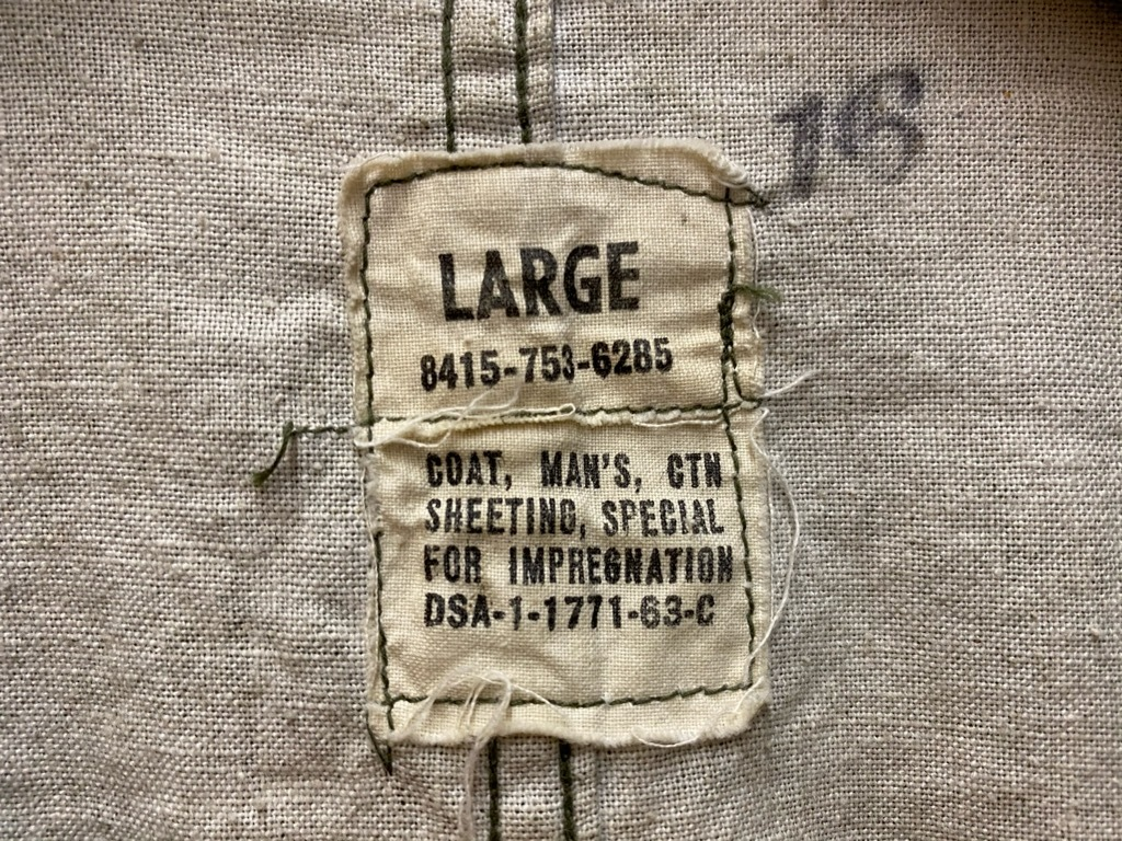 11月25日(水)マグネッツ大阪店Vintage入荷日!!#5 U.S.Army編!!M-47 Mt.Parka ,M-38 Mackinaw,M-41 HBT,M-65 1st,TCU 3rd!!_c0078587_17245993.jpg