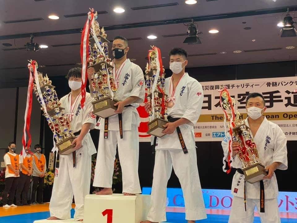 「第52回オープントーナメント全日本空手道選手権大会」(史上初の無観客大会)すべて無事に終了出来ました。_c0186691_18263289.jpg