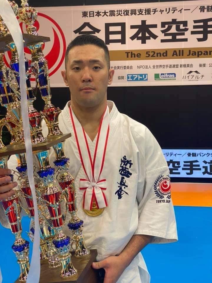 「第52回オープントーナメント全日本空手道選手権大会」(史上初の無観客大会)すべて無事に終了出来ました。_c0186691_18265161.jpg