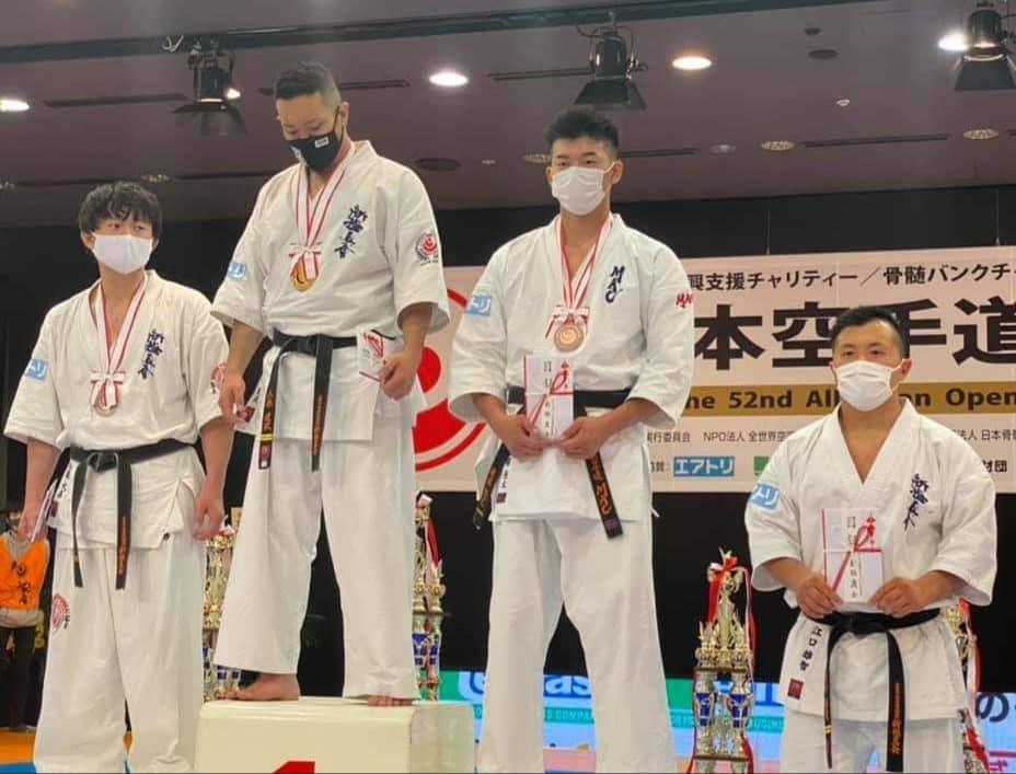 「第52回オープントーナメント全日本空手道選手権大会」(史上初の無観客大会)すべて無事に終了出来ました。_c0186691_18282472.jpg