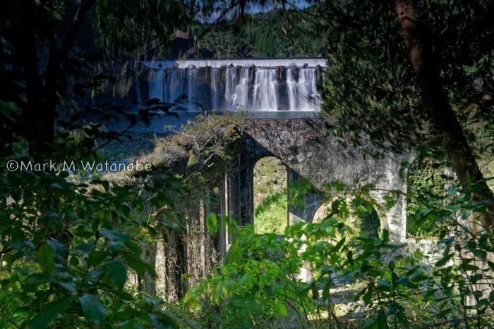 沈堕発電所跡-沈堕滝が見える風景_e0135098_23312477.jpg