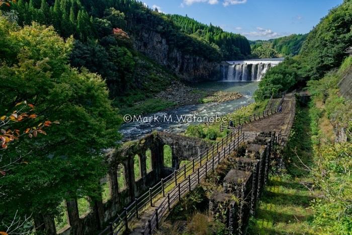 沈堕発電所跡-沈堕滝が見える風景_e0135098_23320578.jpg