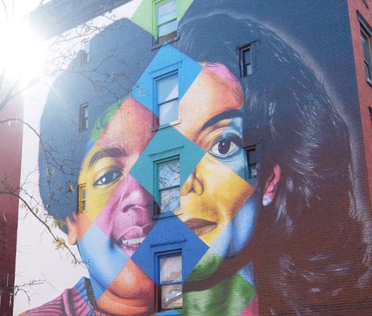 イースト・ビレッジの巨大マイケル・ジャクソン(MJ)壁画_b0007805_21340341.jpg
