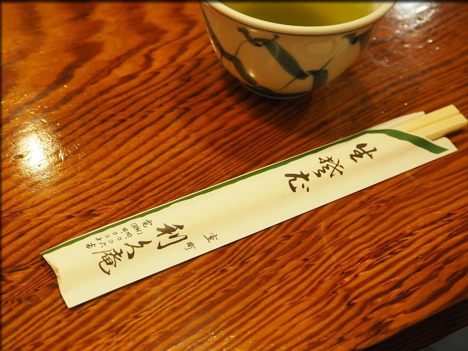 老舗蕎麦処・利久庵で蕎麦@日本橋室町_b0054329_09244584.jpg
