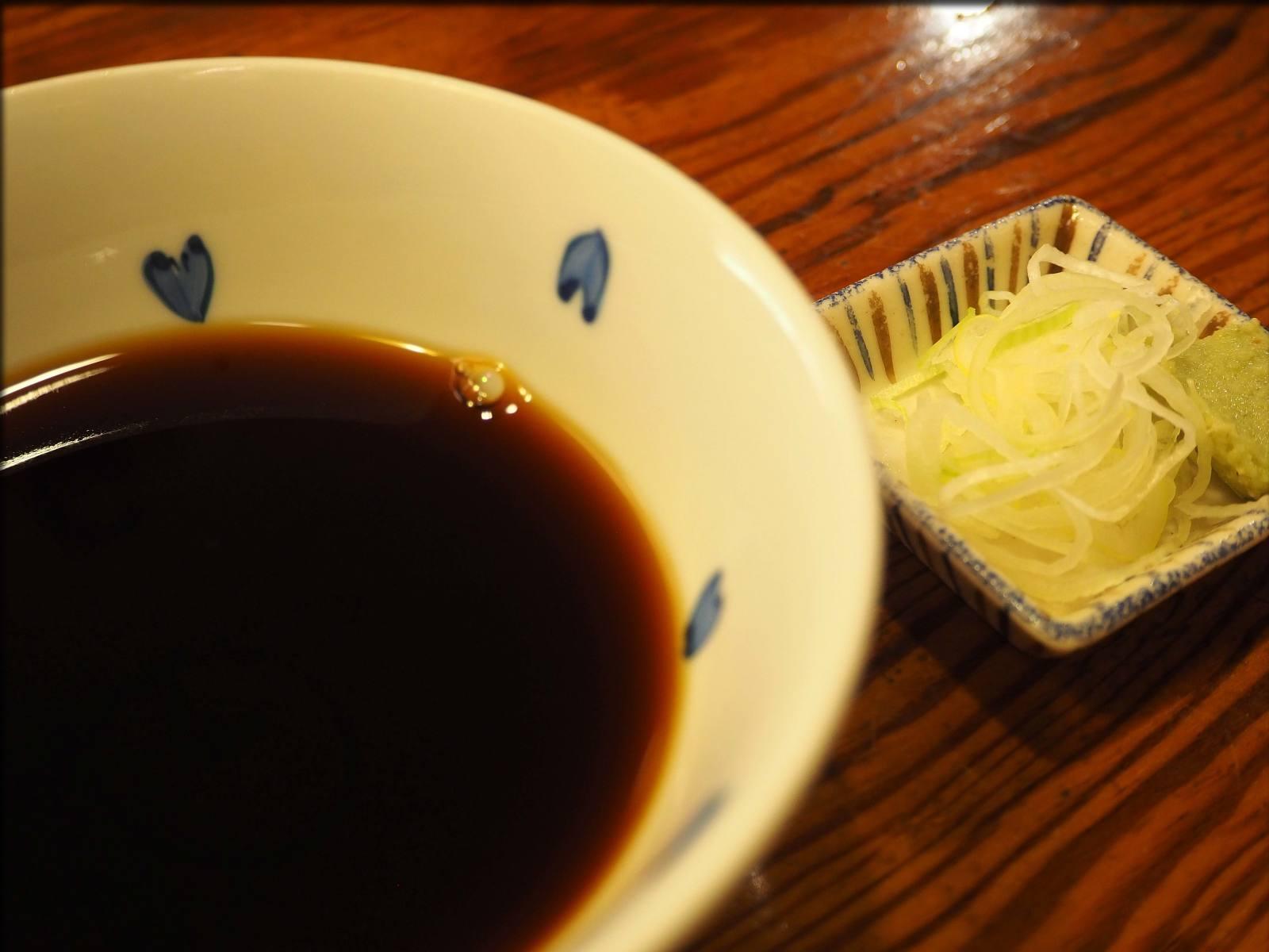 老舗蕎麦処・利久庵で蕎麦@日本橋室町_b0054329_09255666.jpg