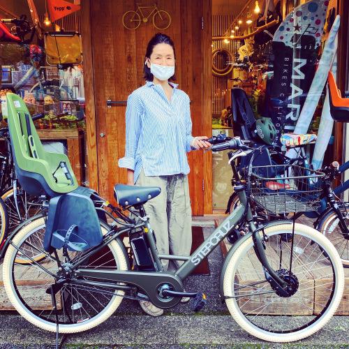 ☆ブリヂストン特集☆bikke STEPCRUZe トートボックス『バイシクルファミリー』グリ モブ Yepp GRI MOB EZ BP02 ステップクルーズ 電動自転車 おしゃれ自転車_b0212032_17305235.jpeg