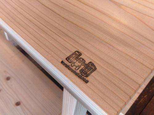 人気の『杉のベンチ』限定脚販売します_b0211845_11341607.jpg