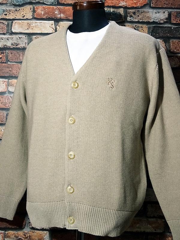 kustomstyle カスタムスタイル カーディガン lock city cardigan カラー:ブラウン・ベージュ 13,200円(内税) 入荷_c0094761_12061213.jpg