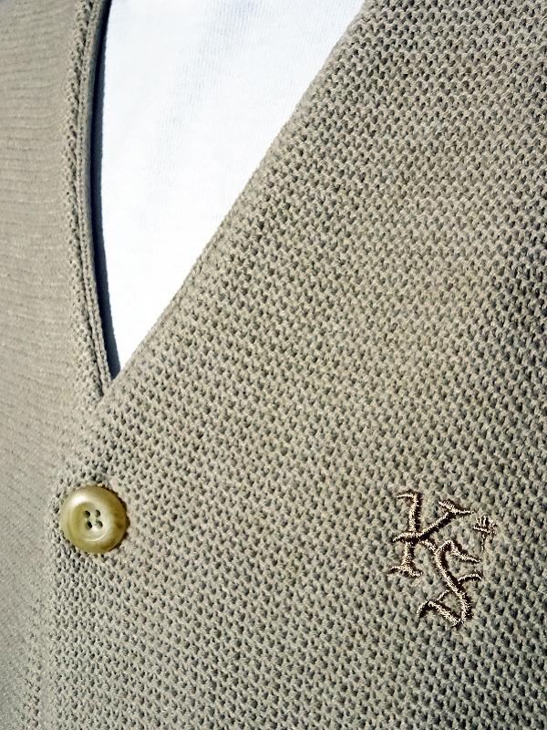 kustomstyle カスタムスタイル カーディガン lock city cardigan カラー:ブラウン・ベージュ 13,200円(内税) 入荷_c0094761_12062279.jpg