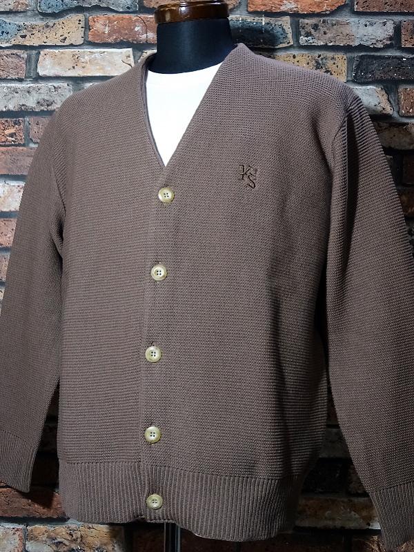 kustomstyle カスタムスタイル カーディガン lock city cardigan カラー:ブラウン・ベージュ 13,200円(内税) 入荷_c0094761_12062828.jpg