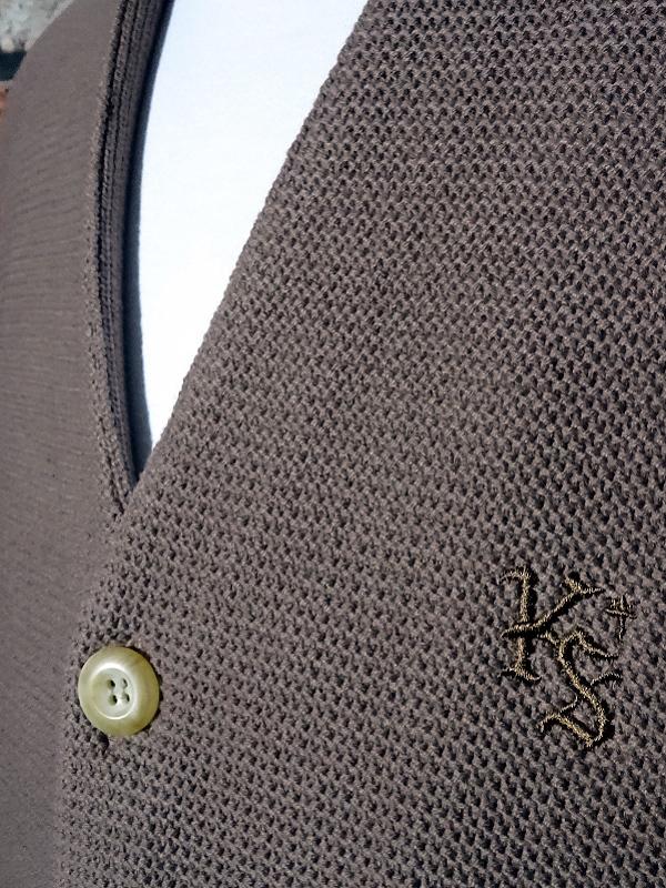 kustomstyle カスタムスタイル カーディガン lock city cardigan カラー:ブラウン・ベージュ 13,200円(内税) 入荷_c0094761_12063361.jpg
