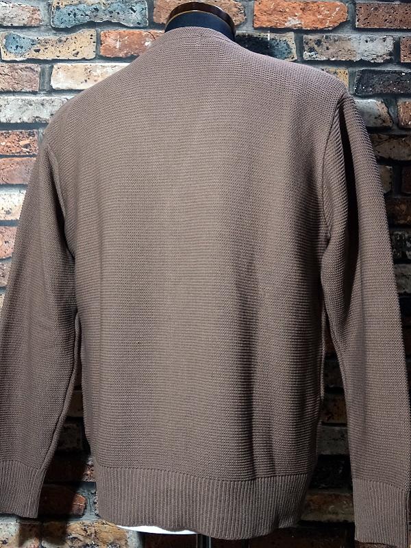 kustomstyle カスタムスタイル カーディガン lock city cardigan カラー:ブラウン・ベージュ 13,200円(内税) 入荷_c0094761_12063924.jpg