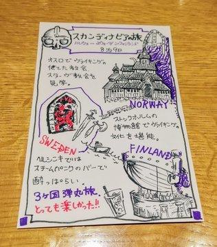 ケイットルオカラさんで開催した旅のイラストワークショップ終了!_a0341668_16104381.jpg