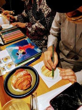ケイットルオカラさんで開催『シナモンロールを描こう』終了!_a0341668_16210017.jpg