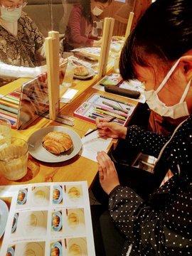 ケイットルオカラさんで開催『シナモンロールを描こう』終了!_a0341668_16210137.jpg