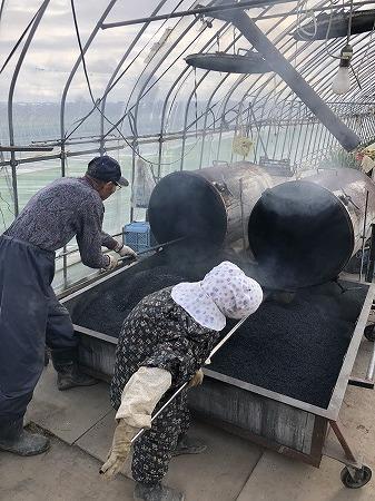 野菜作り・・もみ殻燻炭。_d0251572_21155188.jpg