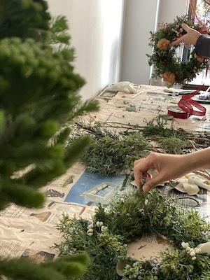 Un Jour クリスマスの花あそび 2020開催中_b0241386_11470629.jpg