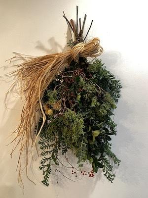 Un Jour クリスマスの花あそび 2020開催中_b0241386_11483953.jpg