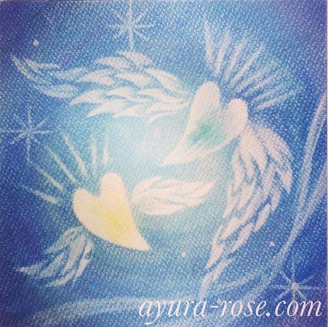 クリスマス*あなたへ贈るあなただけのヒーリングアートご予約受付_d0085018_15023071.jpg