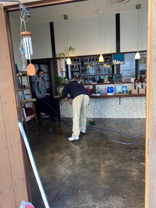 cafeの大掃除しました😃❣️_d0168331_00214488.jpg