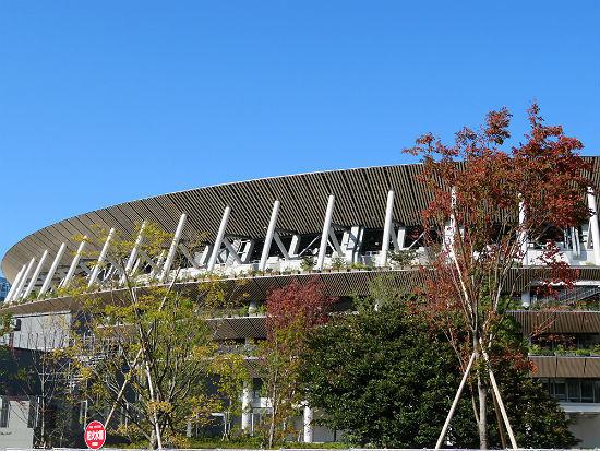 外苑・国立・オリンピックミュージアム 1_d0039443_16582522.jpg