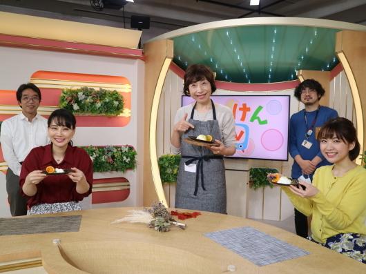 みかんパンナコッタ NHK福岡 はっけんテレビでご紹介しました。_d0210450_19431011.jpg