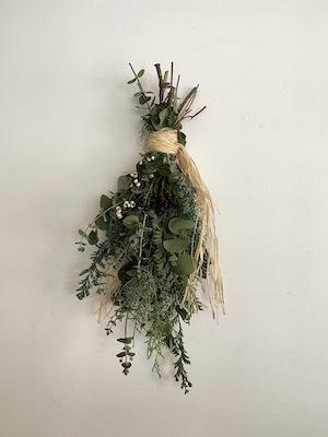 Un Jour wreath & swag_b0241386_10452876.jpg