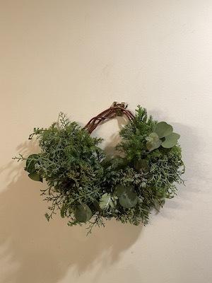 Un Jour wreath & swag_b0241386_10461925.jpg