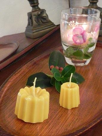 植物の呼吸「蜜蝋キャンドル」_c0152002_08093100.jpg