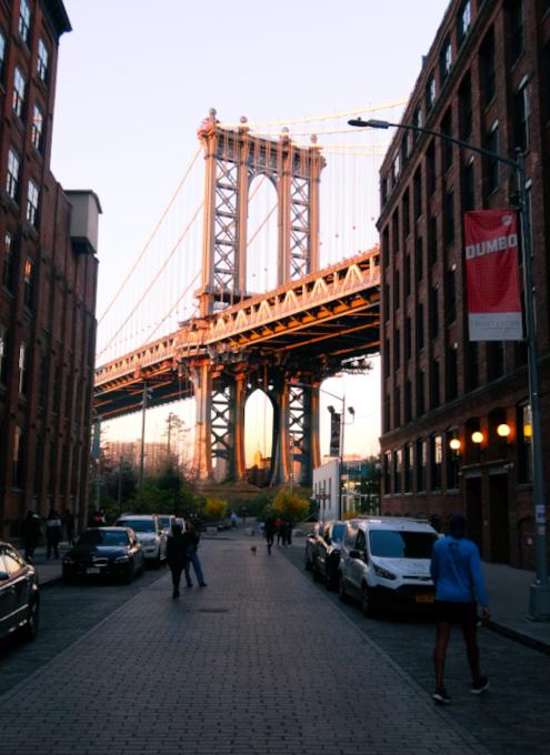 ブルックリン、DUMBOのお勧め写真スポットへ近づいていく動画_b0007805_02134026.jpg
