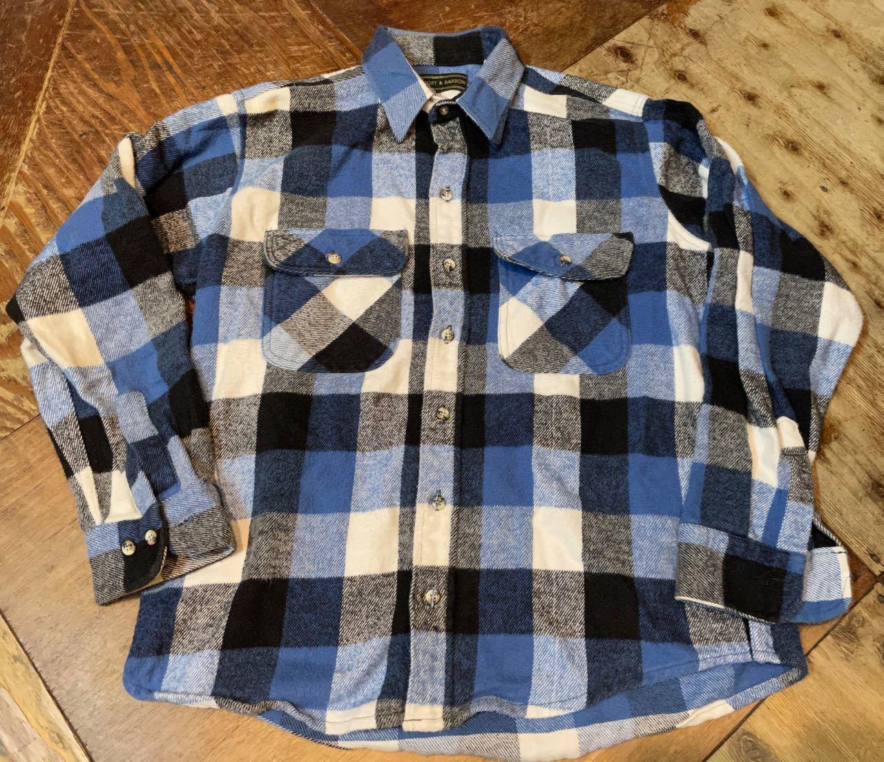 11月28日(土)入荷!90s MADE IN U.S.A CRAFT&BARROW ヘビーネルシャツ!_c0144020_14320067.jpg