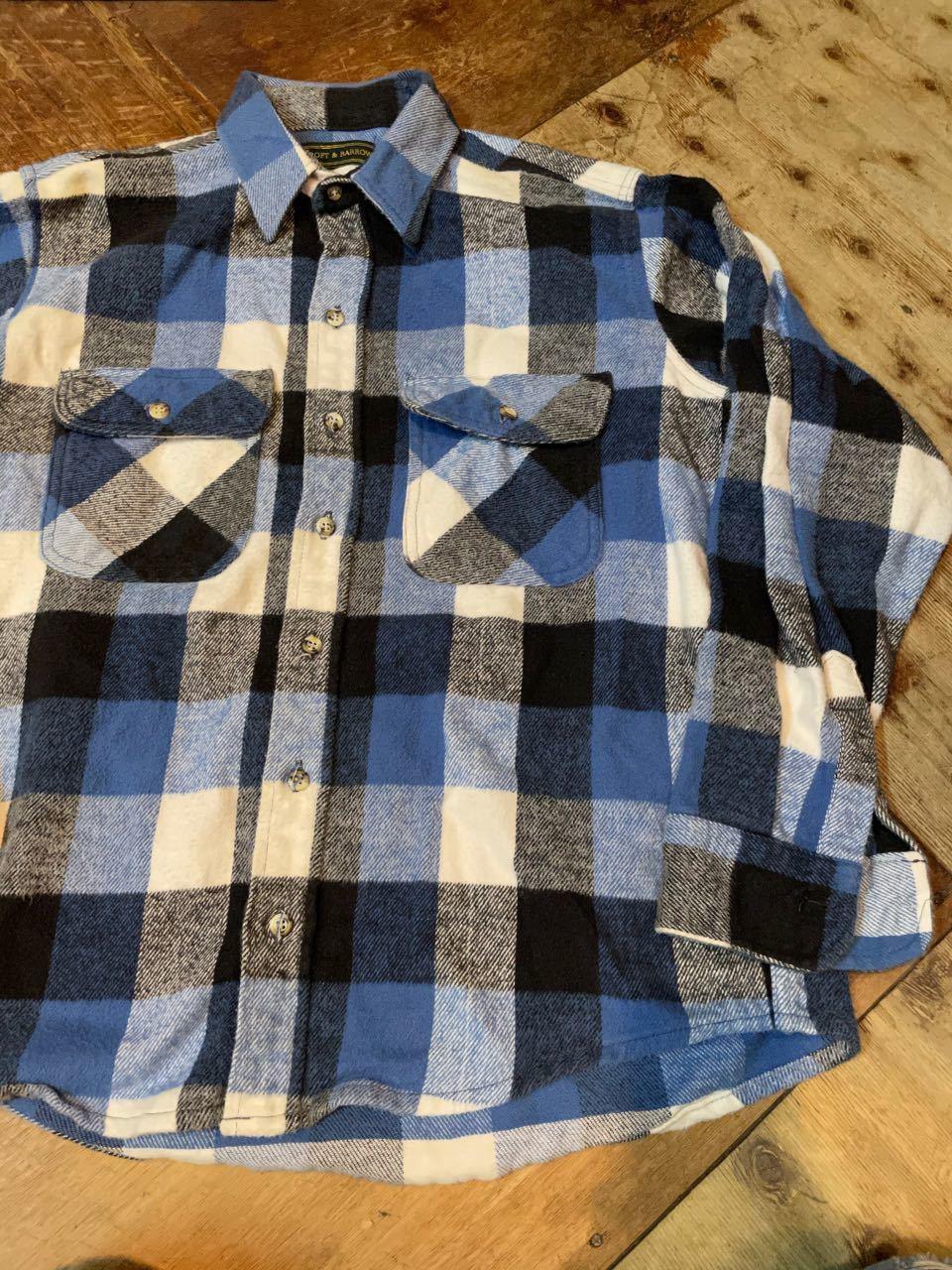 11月28日(土)入荷!90s MADE IN U.S.A CRAFT&BARROW ヘビーネルシャツ!_c0144020_14320269.jpg