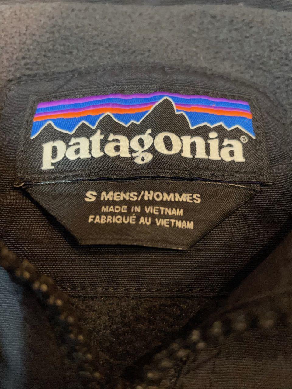 11月28日(土)入荷!PATAGONIA パタゴニア  NYLON ブラック シェルジャケット!_c0144020_14364569.jpg