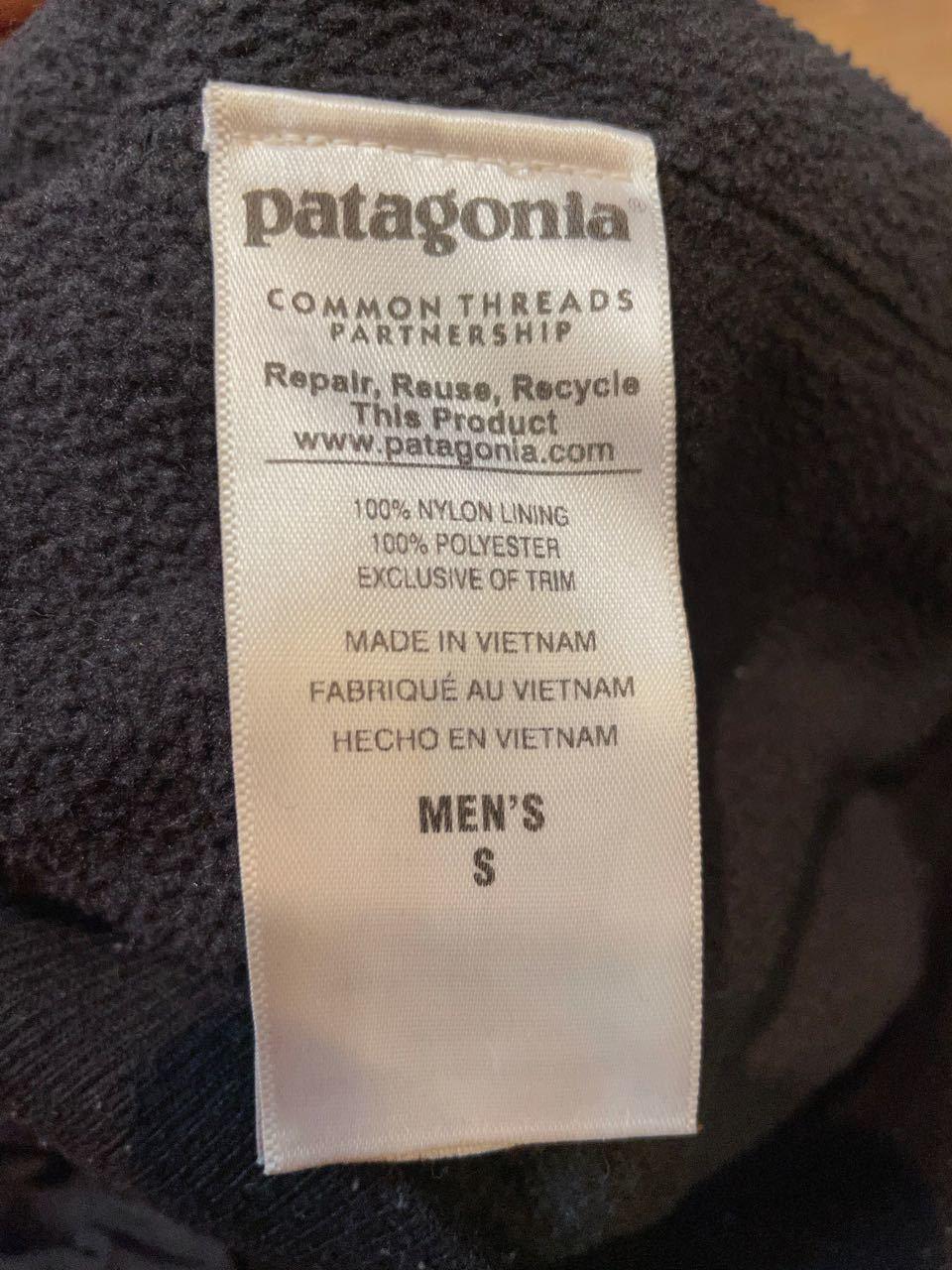 11月28日(土)入荷!PATAGONIA パタゴニア  NYLON ブラック シェルジャケット!_c0144020_14364787.jpg