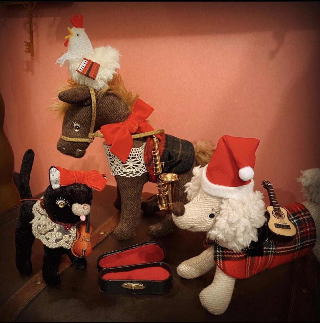 "DMにて通販対応してくださいます🎄不思議の森のprickle 🎄  ""Christmas at home"" 🎄🎁(~12/1)_a0137727_22264238.jpeg"