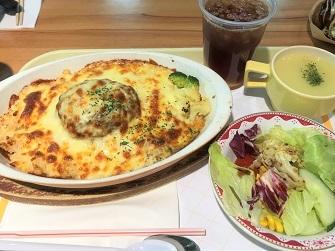 和風パスタと、ガラス瓶に入った固めのプリン☆Cafe Restaurant Kobe Kitanozaka in Taikoo_f0371533_18020039.jpg