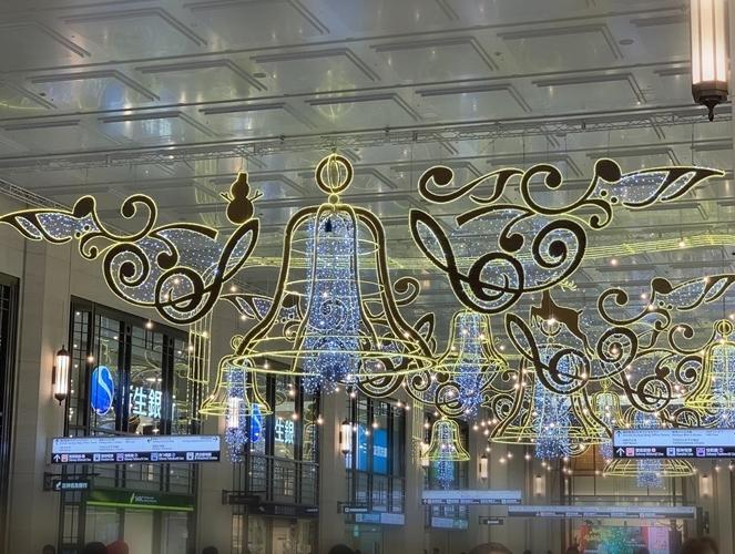 梅田のクリスマスシーン♪ 阪急クリスマスマーケット_e0237680_08353148.jpg