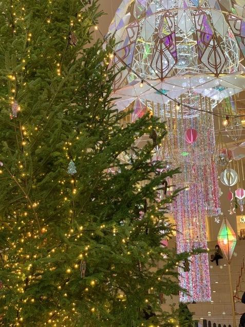 梅田のクリスマスシーン♪ 阪急クリスマスマーケット_e0237680_08382819.jpg