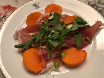 娘夫婦の手作りパスタなどイタリアンの夕食_e0351091_03564376.jpg